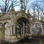 Lipreaders : Visit to Brompton Cemetery with lipspeakers, 5 October 2014