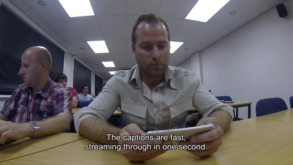 South Africa live captioning