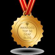 top 50 deaf blog