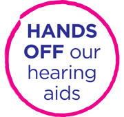 hands off hearing aids